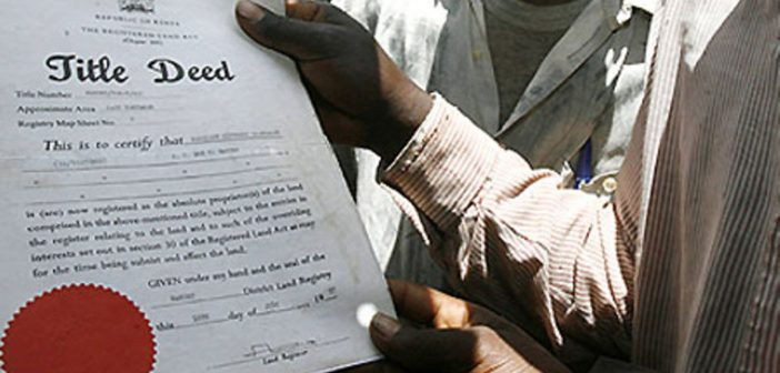CHIEFS AND LAND REGISTRARS WARNED AGAINST TAKING BRIBES