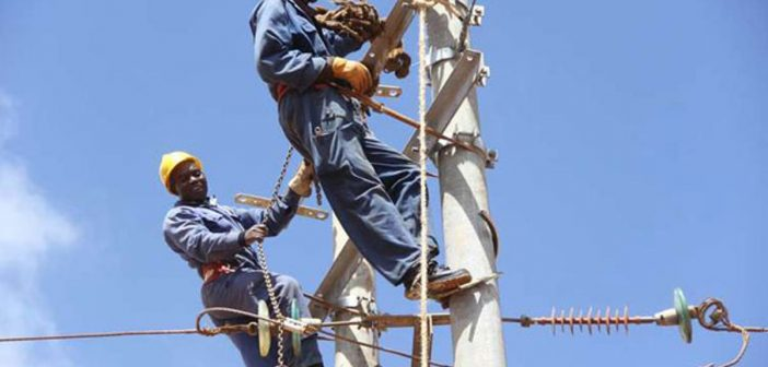 Fixing power outages in Kisumu