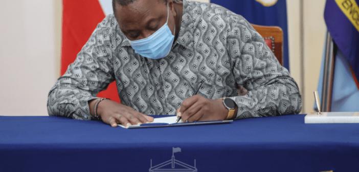 President Kenyatta signs Employment and Business Laws Amendment Bills into law
