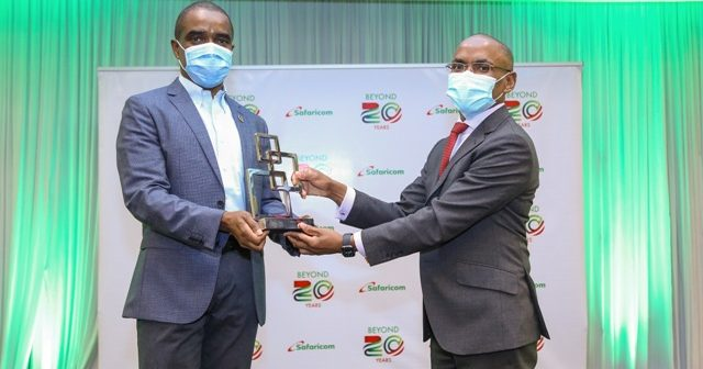 Safaricom feted for outstanding contribution to the mobile industry