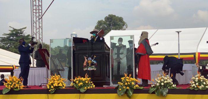 President Kenyatta attends President Yoweri Museveni's inauguration in Kampala