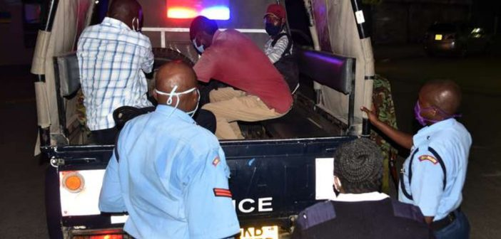 Suspects flouting COVID-19 rules arraigned in court
